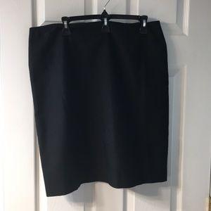 Dress Barn Black pencil skirt